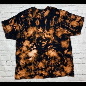 Black Reverse Tie Dye T Shirt